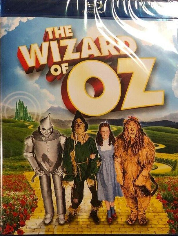 The Wizard of Oz (Bluray) starring Judy Garland, Frank Morgan, Jack Haley