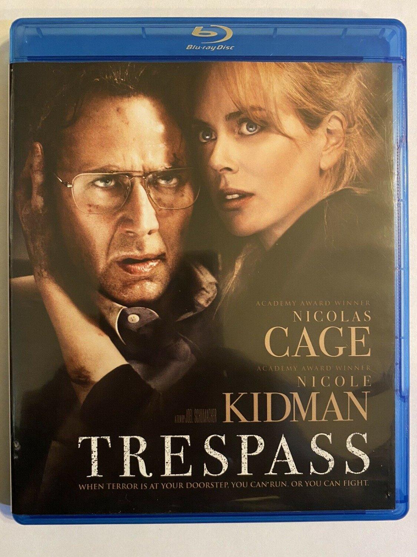Trespass (Bluray) starring Nicolas Cage, Nicole Kidman & Ben Mendelsohn