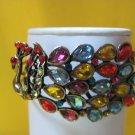 Multi Color Peacock Bracelet