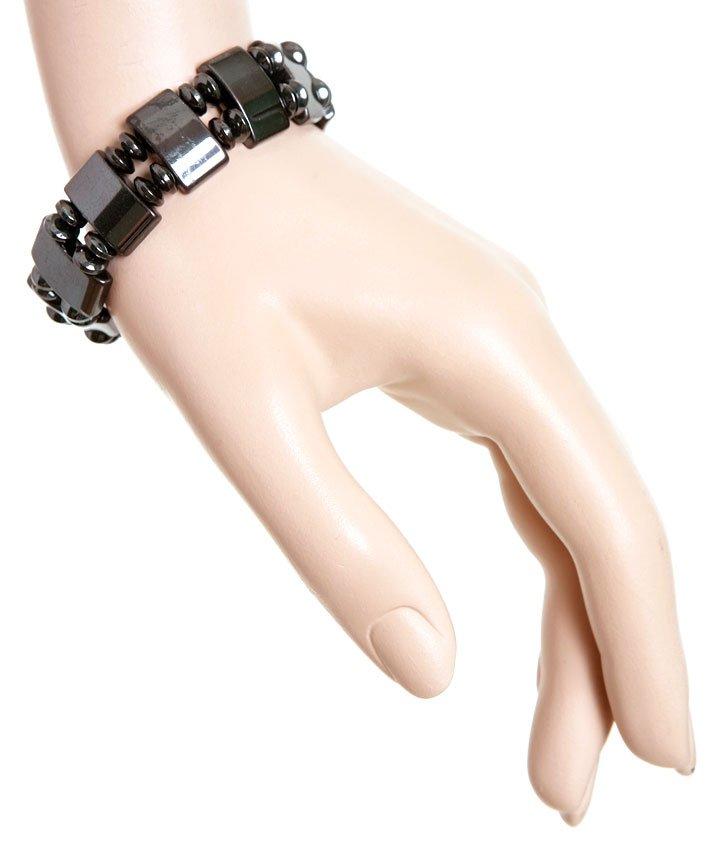 Magnetic Hematite Beads Bracelet