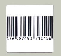 1000 EAS TAGGING RF BARCODE LABELS TAGS 40X40 8.2 MHz