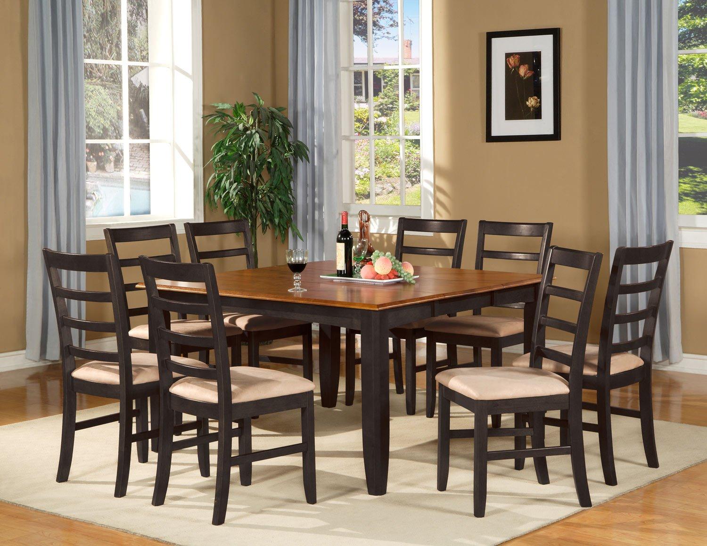 Parfait 9 Pc Square Gathering Dining Table Set 54 Quot X54