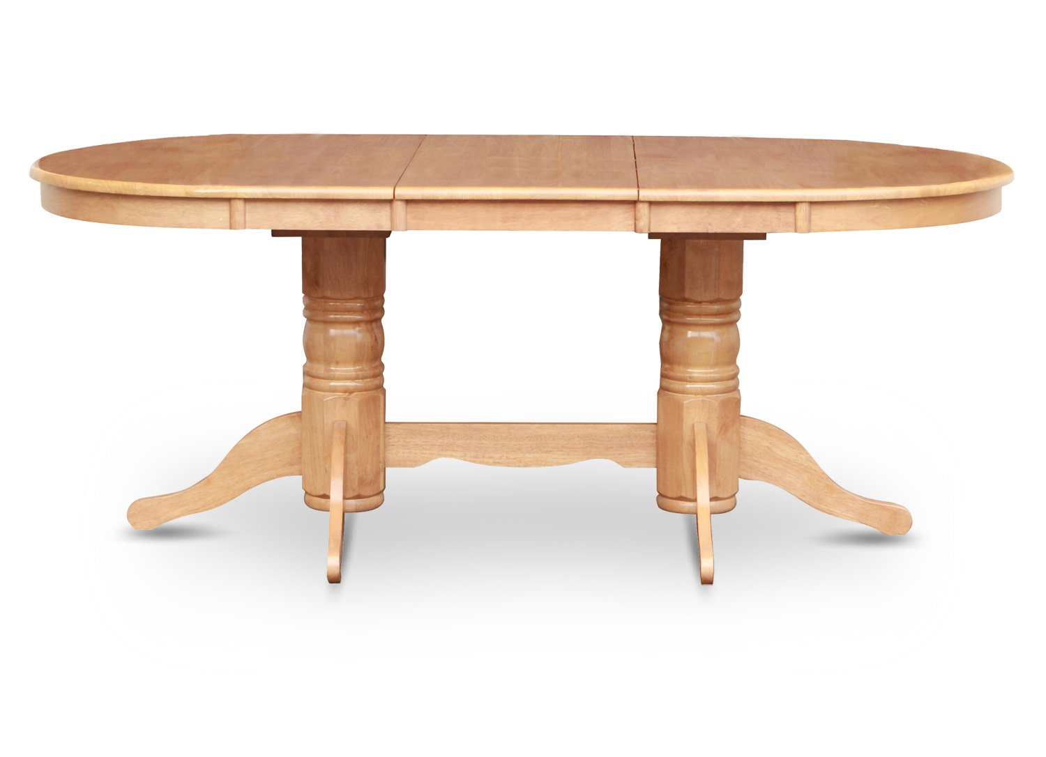 Vancouver oval dining room table 17 extension leaf in for Dining room tables vancouver