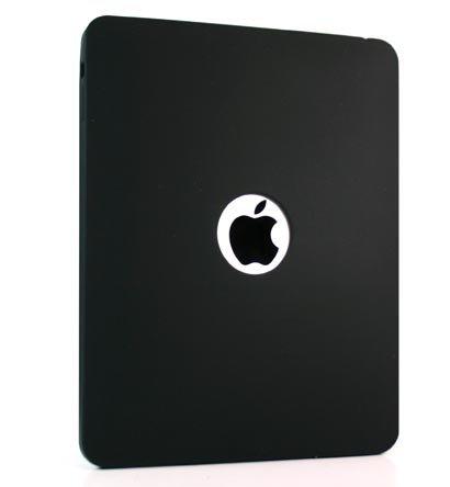 Kroo Silicone Skin Case for Apple iPad (Color: BLACK/11933)