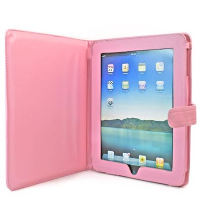 Kroo Manhatta Case for Apple iPad (Color: PINK/11982)