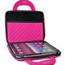 """Kroo Dice Case with Cushions fits up to 9"""" Tablets (Color: MAGENTA/11986)"""