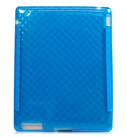 Kroo FLEX Case for Apple iPad 2 (Color: BLUE/12095)