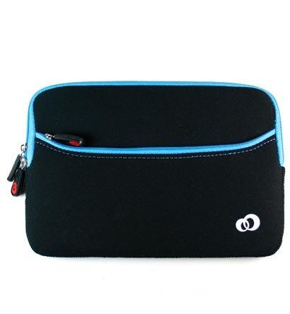 """Kroo Glove 2 Neoprene Sleeve Case fits up to 7"""" eReader (Color: BLUE/11784)"""