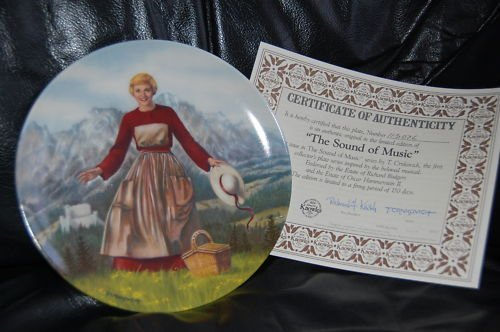 """""""Sound of Music"""" Collector Plate"""
