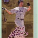 "1999 Ultra ""Gold Medallion"" Tood Helton"