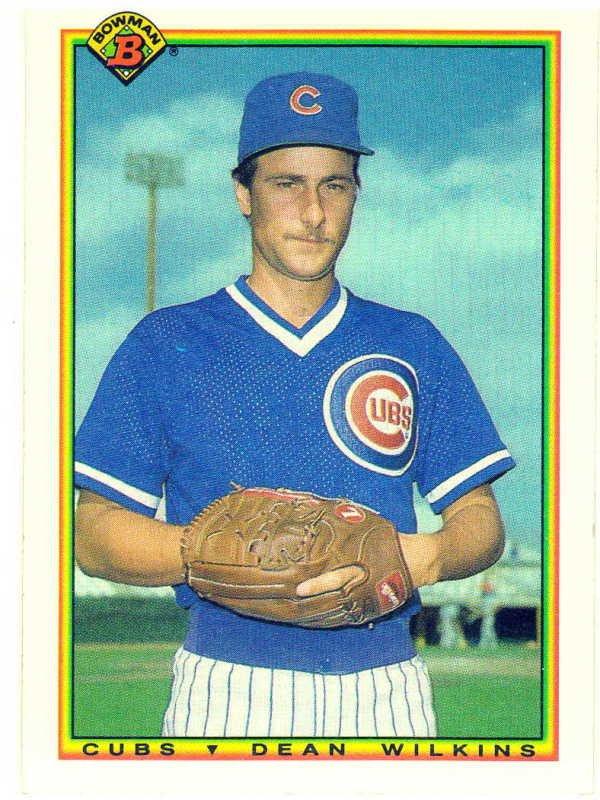 1990 Bowman Dean Wilkins Rookie Card