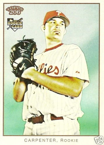 2009 Topps 206 Andrew Carpenter Rookie Card