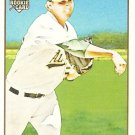 2009 Topps 206 Trevor Cahill Rookie Card