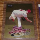 "1999 Ultra ""Gold Medallion"" Curt Schilling"