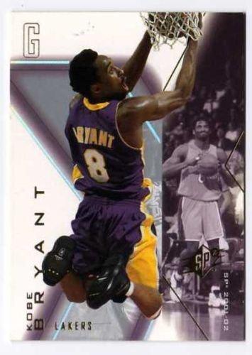 2001-02  SPx Kobe Bryant  SAMPLE