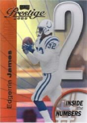 "2000 Playoff  ""Inside the Numbers"" Edgerrin James"