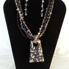 Necklace and Earring Set with or without monogram