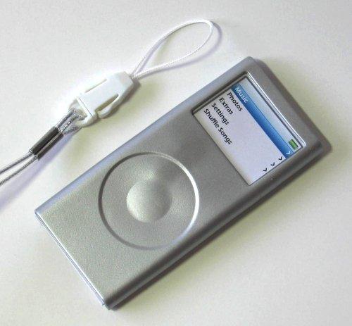 iPod Nano2 Silicone Case Skin for 2006 2nd Gen Nano Silver