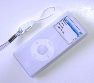 iPod Nano2 Silicone Case Skin for 2006 2nd Gen Nano Clear