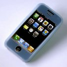 iPhone Silicone Case Skin (Blue)