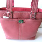 COACH HAMILTON PEBBLE LEATHER LUNCH TOTE PURSE BAG HANDBAG F13959