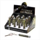 Sportsman's Keychain Light Projector--Lot of 12