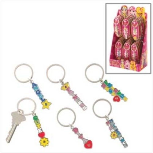 Diva Keychains - Lot of 36  **SEE NOTE**