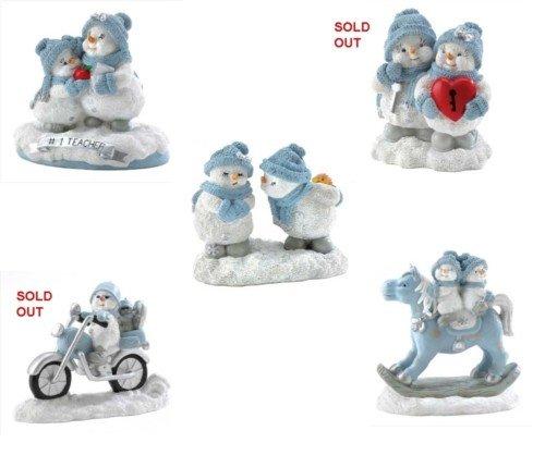 Snow Buddies Medium Figurines  **SEE NOTE**