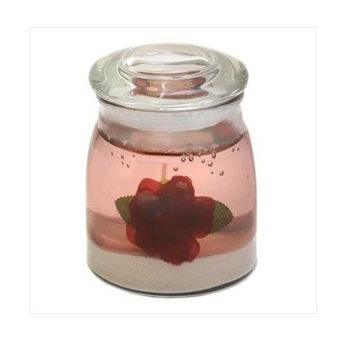 Rose Garden Gel Candle  NEW  **SEE NOTE**