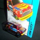 Hot Wheels 2015 '67 Austin Mini Van HW City Art Cars 27/250