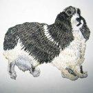 (14) Black White ENGLISH SPRINGER SPANIEL Dog~Embroidered Applique Wholesale Lot