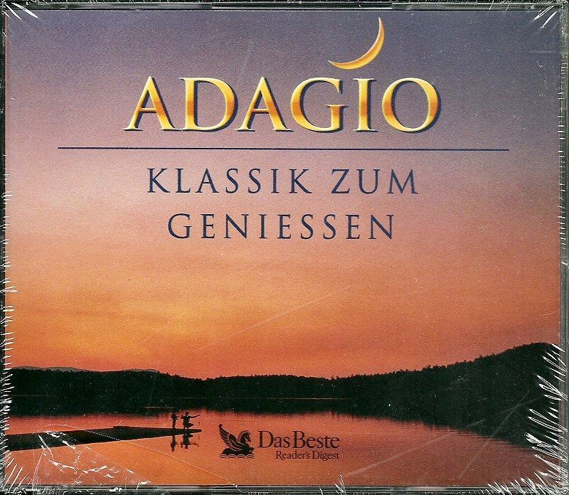ADAGIO (4 CD) Klassik Zum Geniessen (Classics to Enjoy) Reader's Digest Das Beste Mint (Germany)