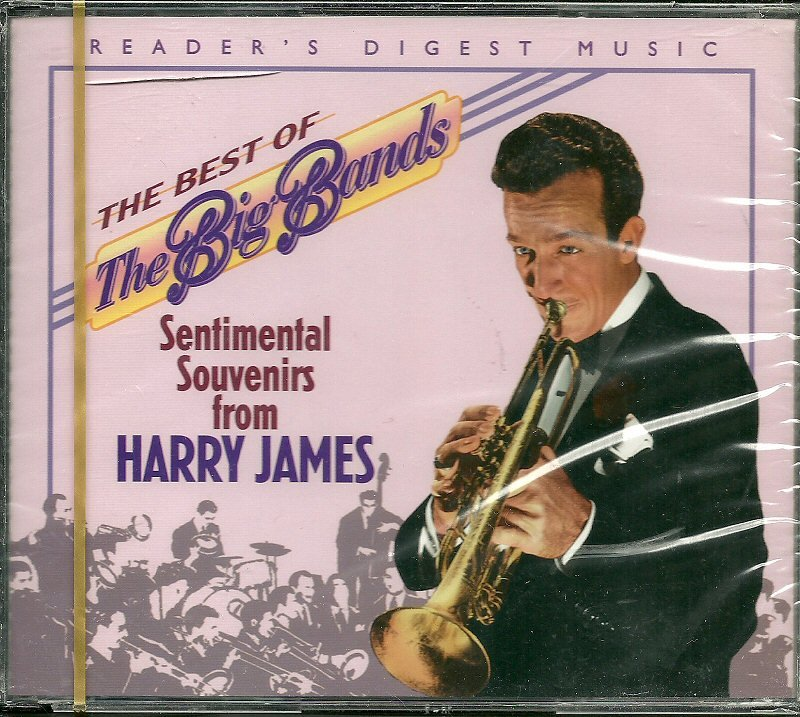 HARRY JAMES (2 CD) SENTIMENTAL SOUVENIRS FROM,  Reader's Digest Best of the Big Band series (MINT)