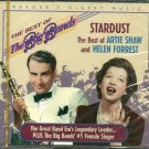 BEST OF ARTIE SHAW (2 CD) & HELEN FORREST, STARDUST Reader's Digest Best of the Big Bands (MINT)