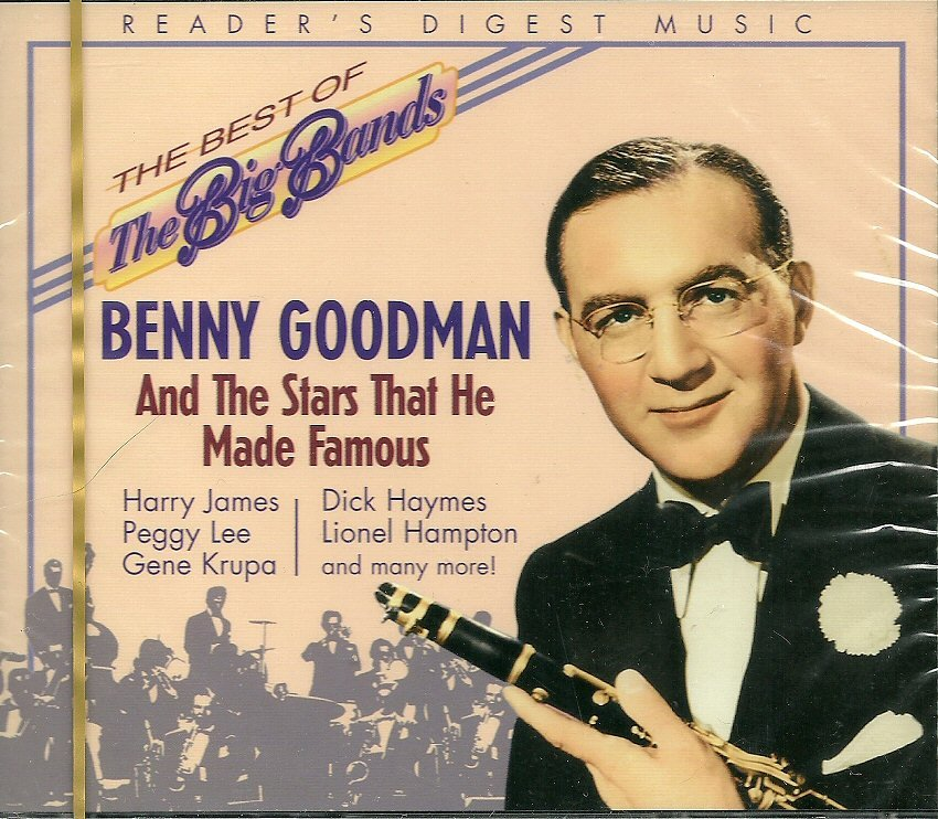 BENNY GOODMAN (2 CD) & THE STARS THAT HE MADE FAMOUS Reader's Digest Big Band Series (MINT)