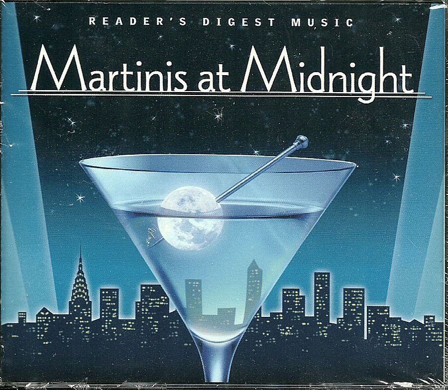 MARTINIS AT MIDNIGHT (4 CD) Reader's Digest Music Jazz Chet Baker
