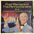 FRED WARING (8 LPs) & THE PENNSYLVANIANS SING AMERICA'S FAVORITE SONGS Reader's Digest Vinyl
