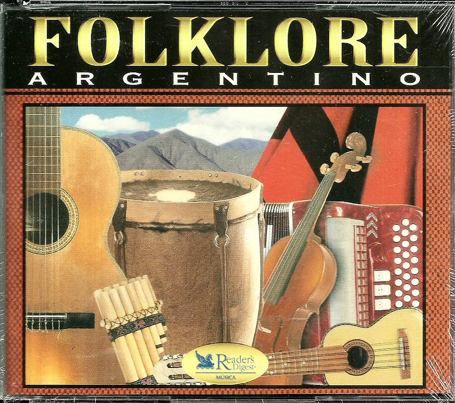 FOLKLORE ARGENTINO (5 CD) Reader's Digest Argentina Folk Acoustic Music