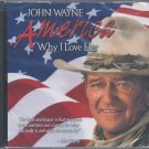 "John Wayne ""America ,Why I Love Her"" CD + A Patriotic Salute to the Military Family CD"