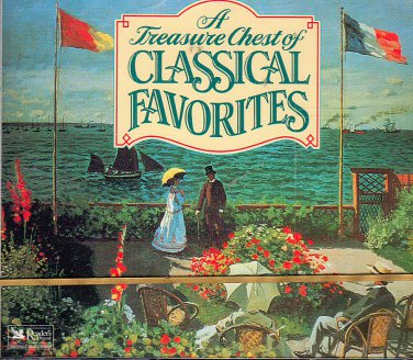 A Treasury of Classical Favorites (4 CD) Reader's Digest Music