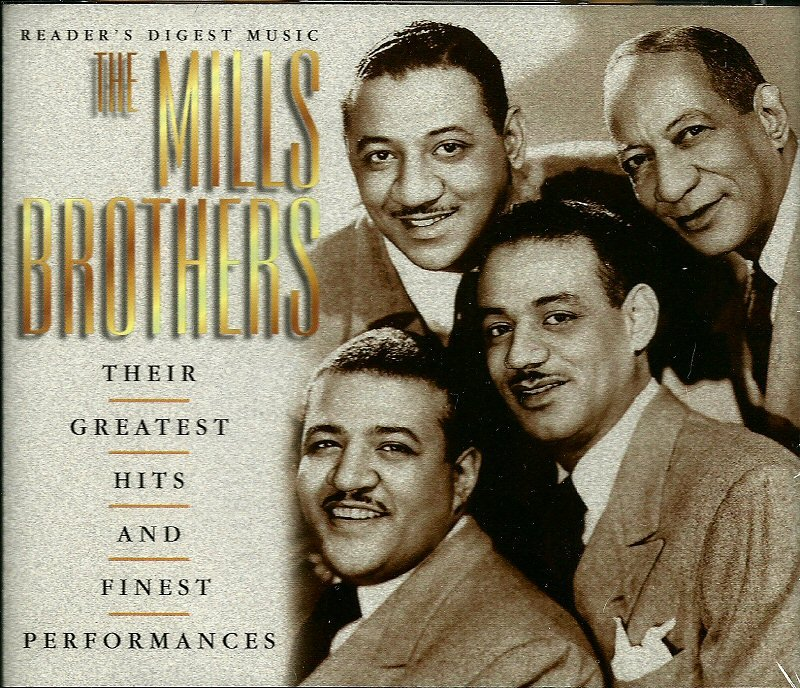 THE MILLS BROTHERS (3 CD) Their Greatest Hits & Finest Performances Reader's Digest Music