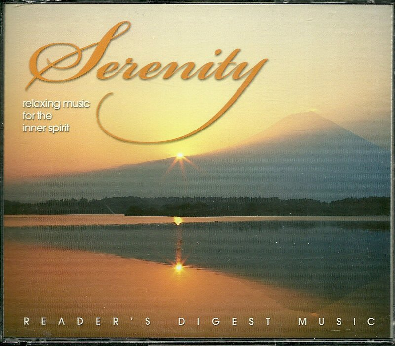 SERENITY (4 CD) Relaxing Music for the Inner Spirit Reader's Digest New Age