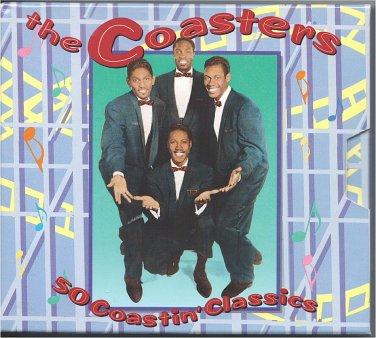 The Coasters - 50 Coastin' Classics (2CD) Rhino Records