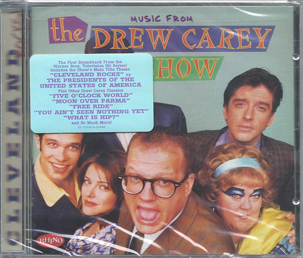 Cleveland Rocks! Music From the Drew Carey Show CD - Rhino Records