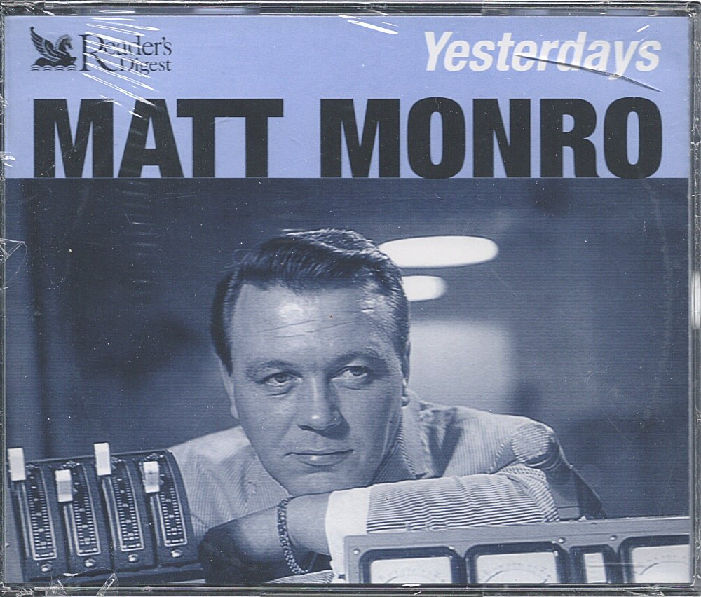 Matt Munro 3 Cd Yesterdays Reader S Digest Music Uk