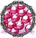 1440 3MM FUCHSIA Hot Pink Rhinestones Iron on Hot Fix 10 gross - 10ss ss10