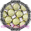 1440 3MM JONQUIL Yellow Rhinestones Iron on Hot Fix 10 gross - 10ss ss10