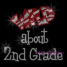 Wild about - Pick a Grade School & Color for WILD - Rhinestone Iron on Transfer Hot Fix Bling - DIY