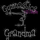 Gymnastics Grandma - C Rhinestone Iron on Transfer Hot Fix Bling Sports - DIY