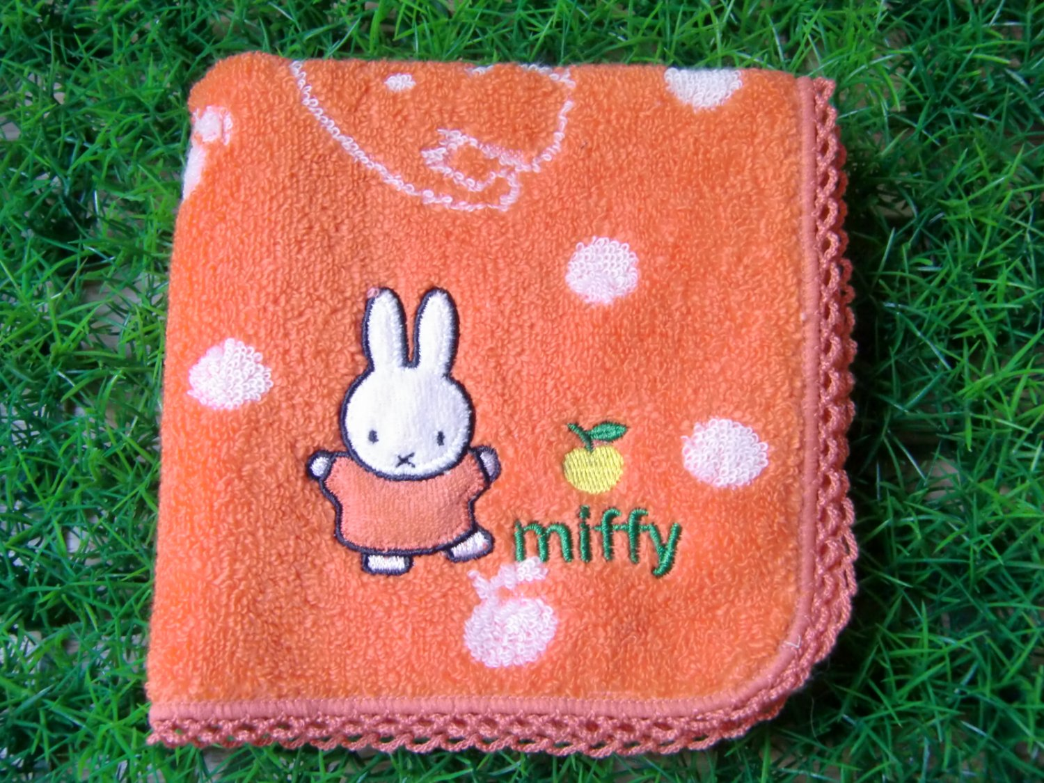 Miffy Handkerchief - Orange